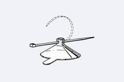 Držák-přísavka