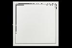 Softline Comfort Revizní dvířka se skrytými tlačnými uzávěry, bílé lakovaná